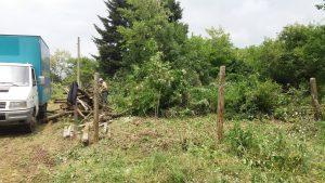 Косене на трева, почистване на дворове, рязане на дърва.