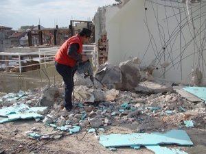 Кърти чисти извозва Бургас
