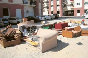 Изхвърляне на стари мебели Бургас